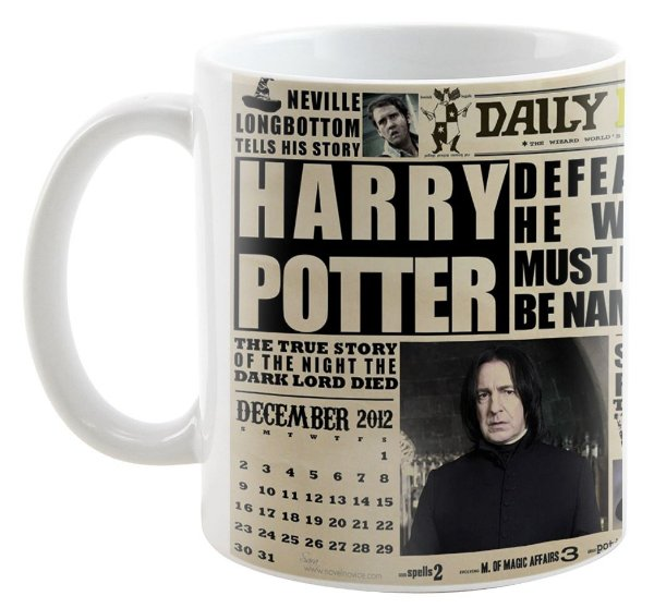 Caneca - Harry Potter - Jornal