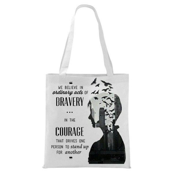 Ecobag - Divergente - Courage