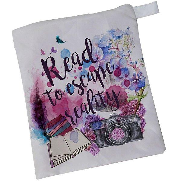 Bolsinha Livro e Leitor Digital - Read To Escape