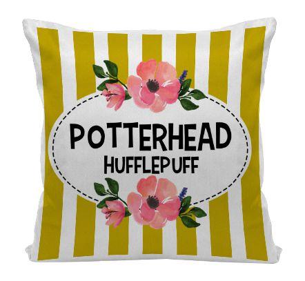 Almofada - Harry Potter - Casa Hufflepuff