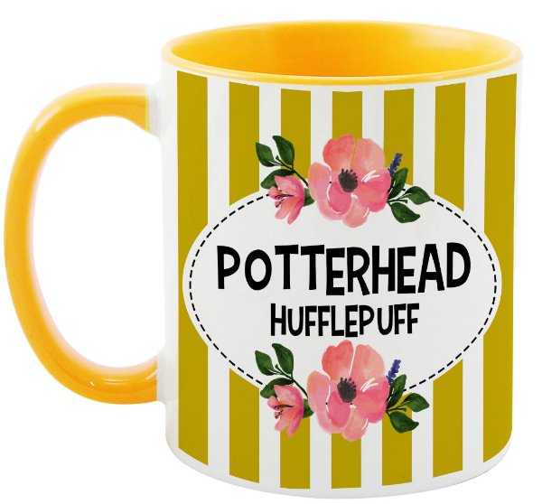 Caneca - Harry Potter - Casa Hufflepuff