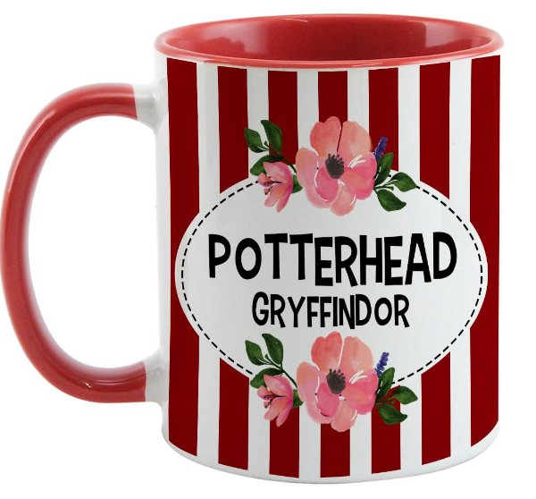 Caneca - Harry Potter - Casa Gryffindor