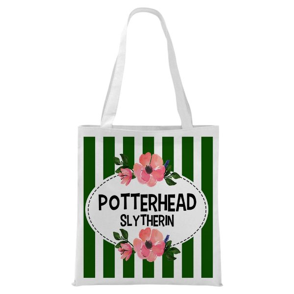 Ecobag - Harry Potter - Casa Slytherin