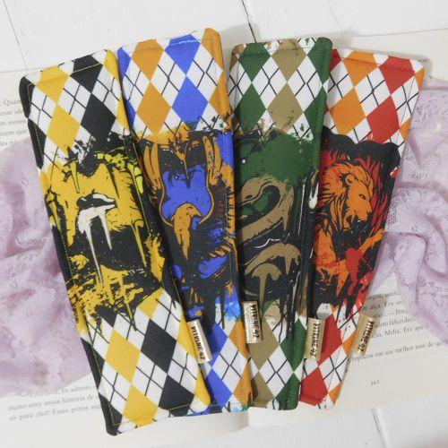 Kit 04 Marcadores de Página - Harry Potter - Casas