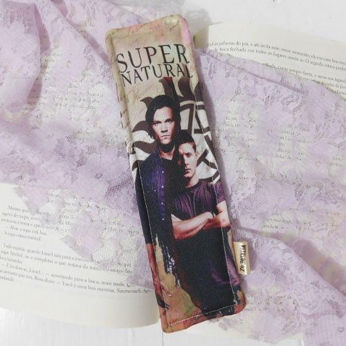 Marcador de Página - Supernatural - Sam e Dean
