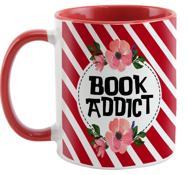 Caneca - Bookstagram -Book Addict