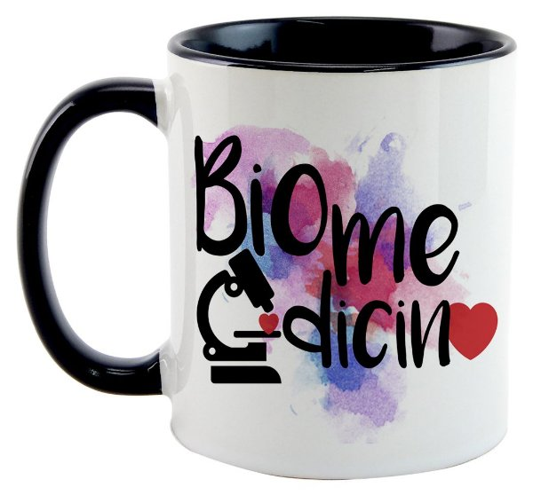 Caneca - Profissões - Biomedicina