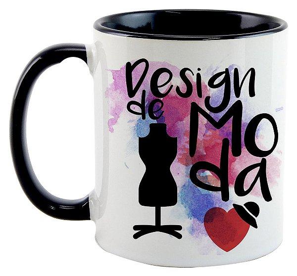 Caneca - Profissões - Design de Moda