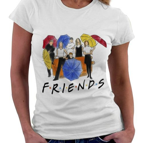 Camiseta Feminina -Friends Guarda Chuva