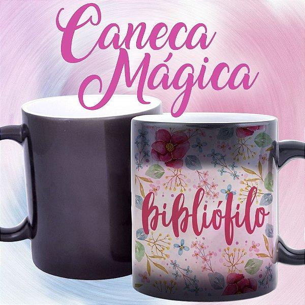 Caneca Mágica - Bibliófilo - Pink