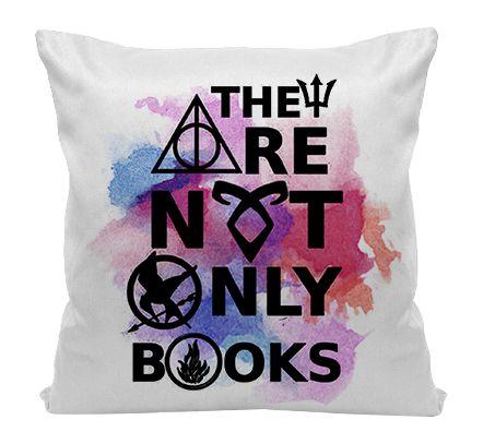 Almofada - Bookstagram - Não são Apenas Livros