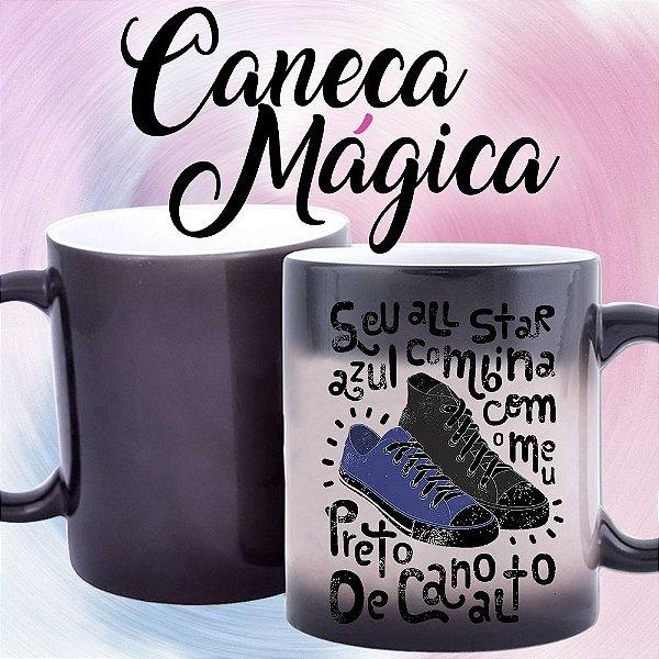 Caneca Mágica - Seu all Star Combina