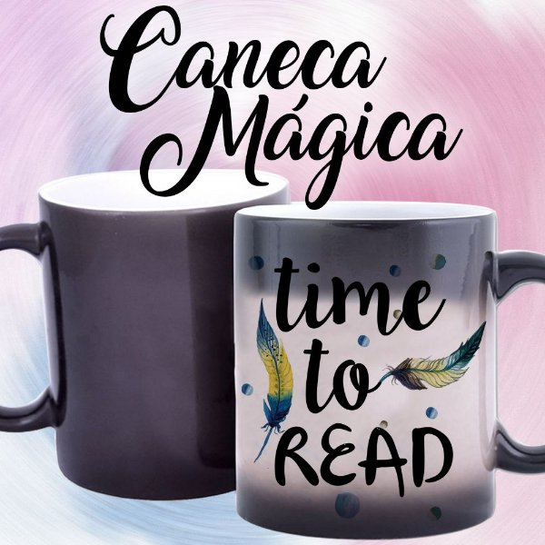 Caneca Mágica - Time to Read
