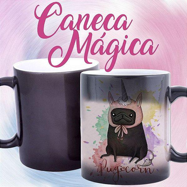 Caneca Mágica - Pugicorn