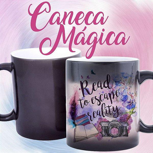 Caneca Mágica - Read to Scape