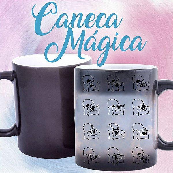Caneca Mágica - Bookstagram - Posições de um Leitor