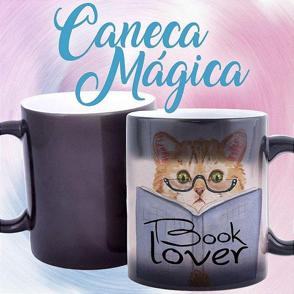 Caneca Mágica - Book Lover