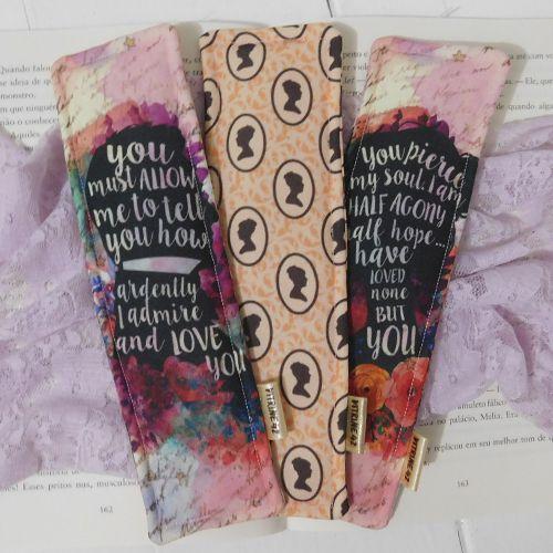 Kit 03 Marcadores de Página - Jane Austen
