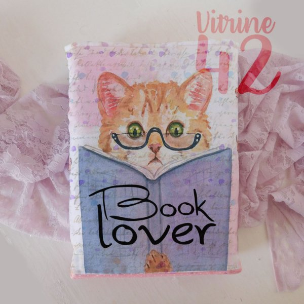 Capa Tipo Luva para Livro - Book Lover