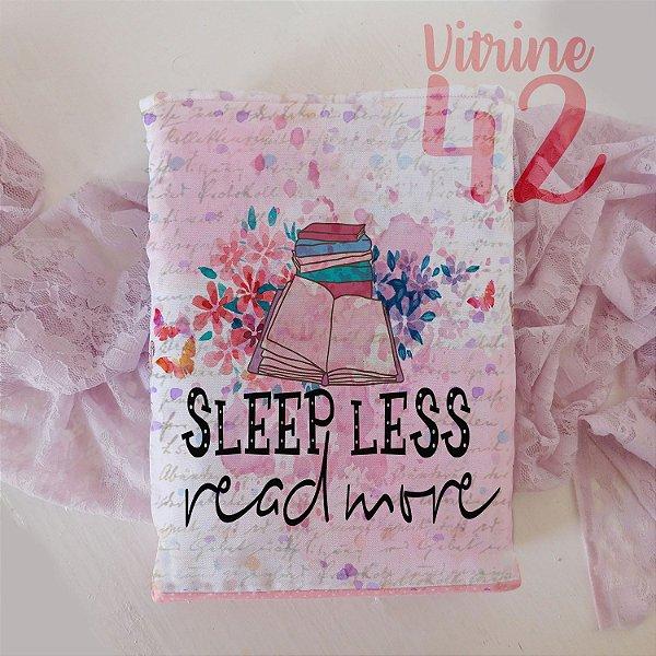Capa Tipo Luva para Livro - Sleep Less
