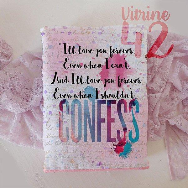 Capa Tipo Luva para Livro - Confess