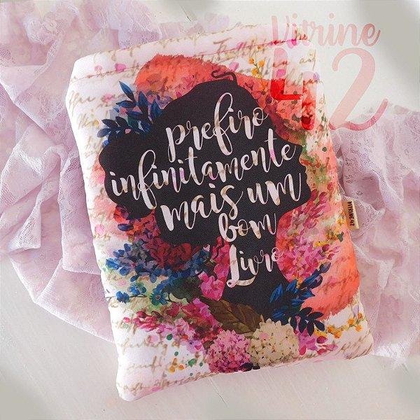 Capa Tipo Luva para Livro - Jane Austen - Prefiro Infinitamente