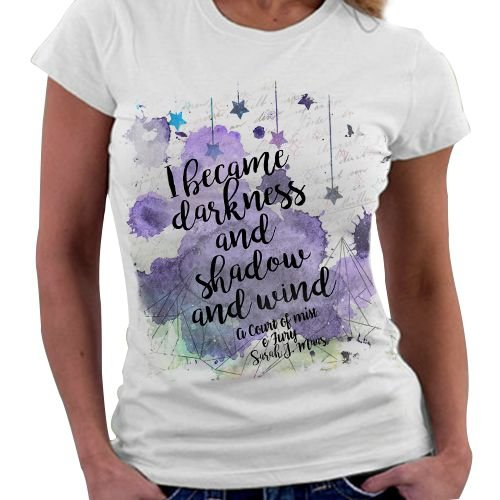 Camiseta Feminina - Corte de Espinhos e Rosas - Corte de Névoa e Fúria