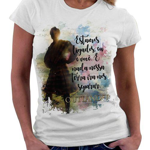 Camiseta Feminina - Outlander - Livro 02