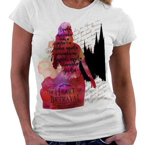 Camiseta Feminina - Crônicas de amor e Ódio - Livro 2