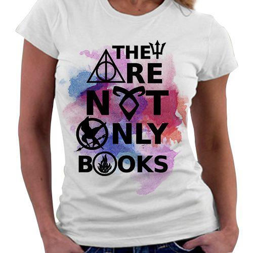 Camiseta Feminina - The Are Not Only Books