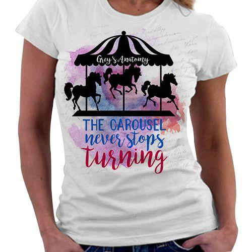 Camiseta Feminina - Grey's Anatomy - The Carousel