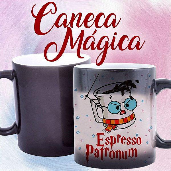 Caneca Mágica - Harry Potter - Espresso Patronum