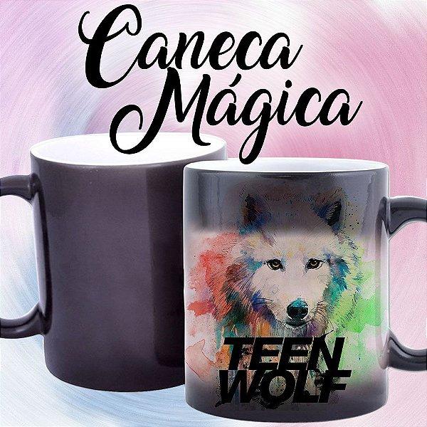 Caneca Mágica - Teen Wolf - Watercollor