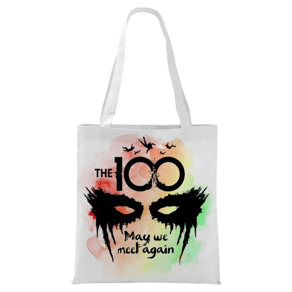 Ecobag - Série The 100 - May we meet again