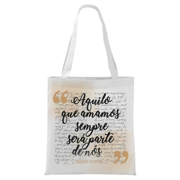 Ecobag - Harry Potter - Aquilo que amamos