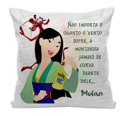 Almofada - Mulan