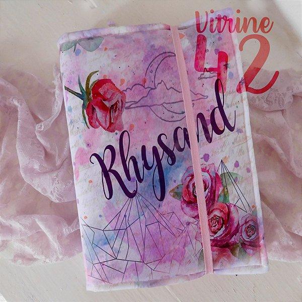 Capa ajustável para Livro - Corte de Espinhos e Rosas - Rhysand