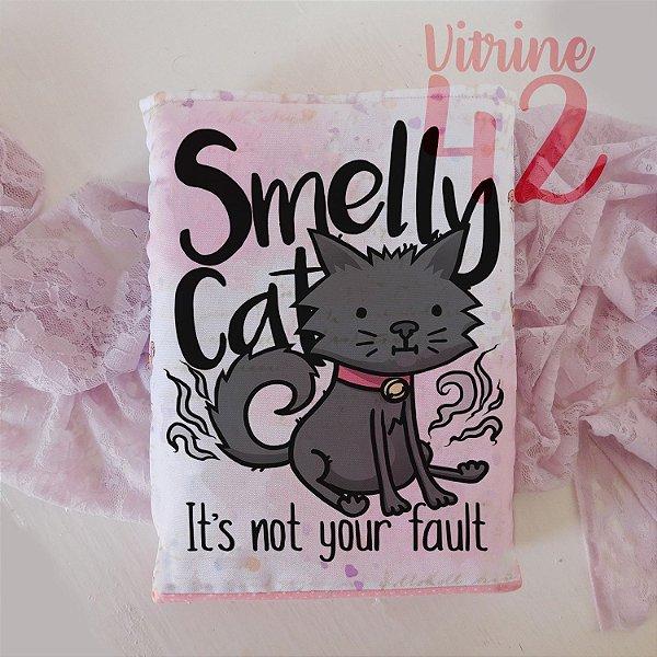 Capa Tipo Luva para Livro - Smelly Cats