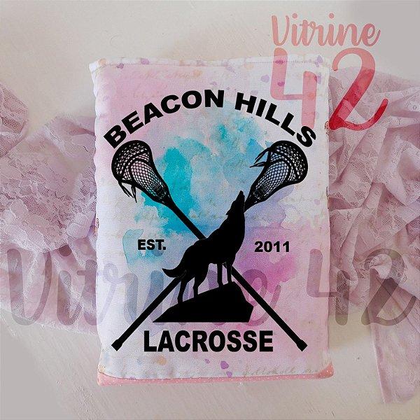 Capa Tipo Luva para Livro - Teen Wolf - Lacrosse