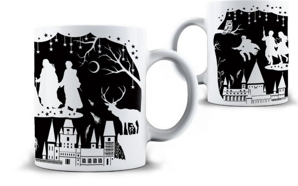 Caneca Harry Potter - Noturno