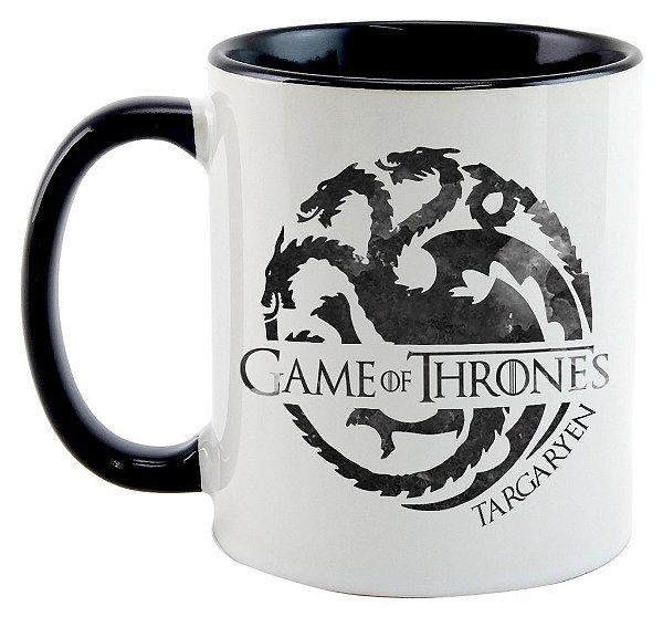 Caneca - Série Game of Thrones - Casa Targaryen