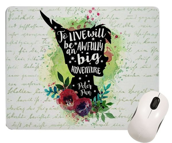 Mouse Pad - Frase - Per Pan - Adventure
