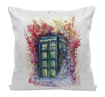 Almofada - Série Doctor Who Tardis