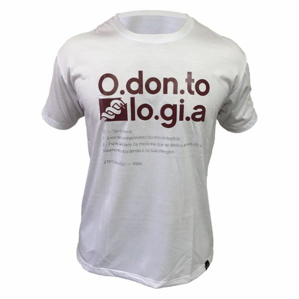 Camiseta de Odontologia 00130