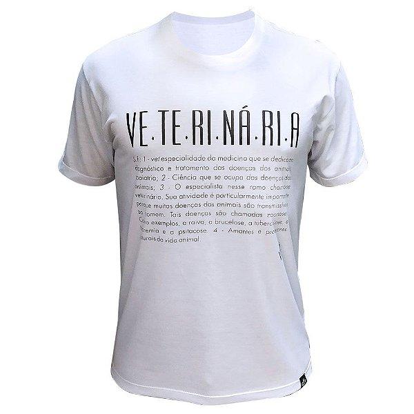 Camiseta de Medicina Veterinária 00160