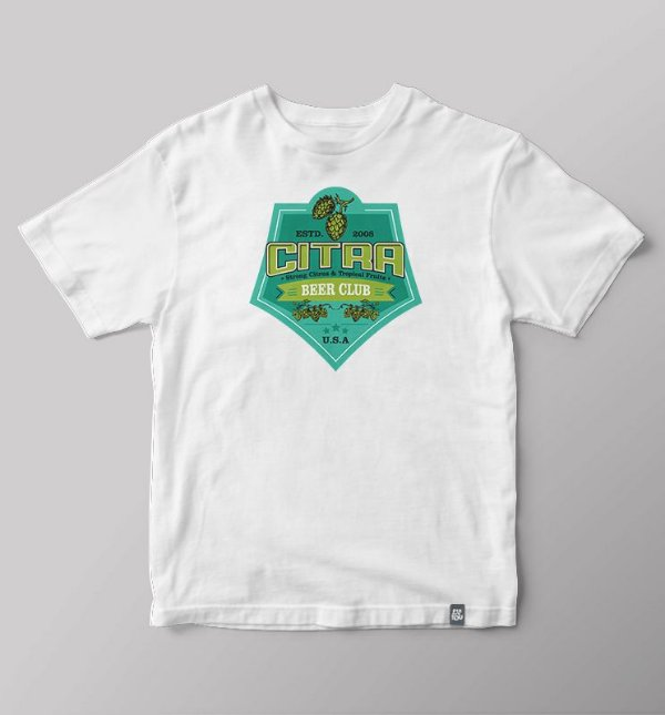 Camiseta Beer Club - Citra