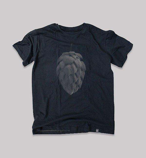 Camiseta Humulus lupulus Masculina cinza