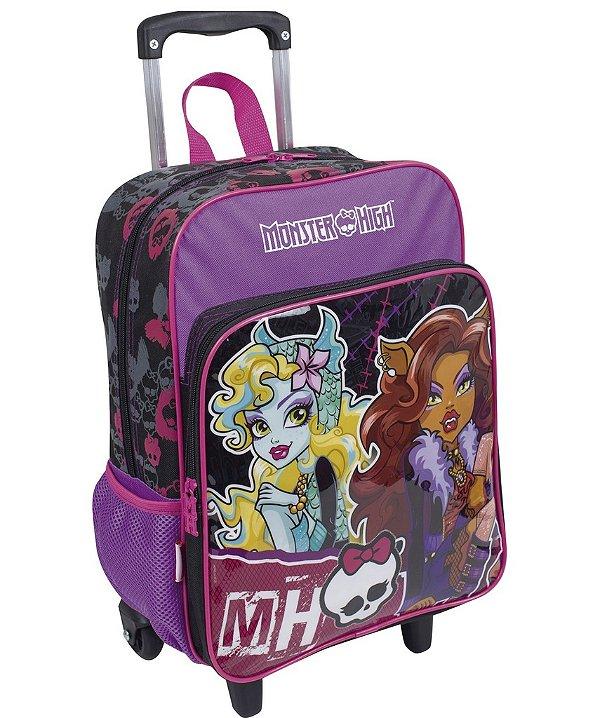 Mochilete Grande com bolso Monster High 16M Plus 063910-00