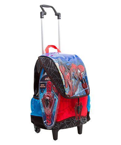 Mochilete Grande Spiderman 17Z 064616