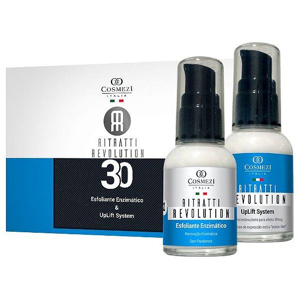 Ritratti Revolution 30 – Peeling e Lifting Facial com Preenchimento de Rugas (2 produtos)